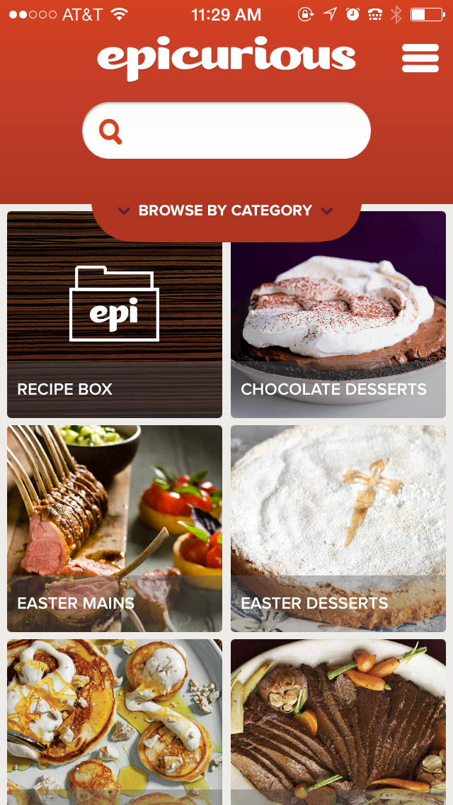 Epicurious iBeacon