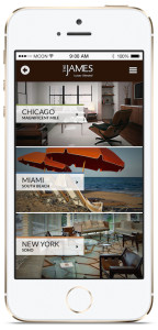 The James - Hotel - Pocket Assistant iBeacon App
