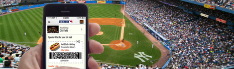 iBeacon in Baseball Stadium
