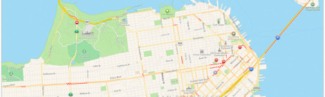 beacon, apple maps, ibeacon